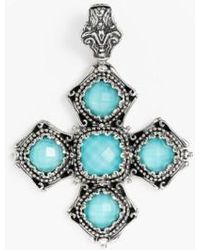 Konstantino | 'aegean' Cross Pendant | Lyst