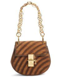 Chloé - Mini Drew Bijoux Leather Shoulder Bag - Lyst