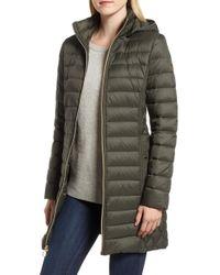 MICHAEL Michael Kors - Packable Down Puffer Jacket, Green - Lyst
