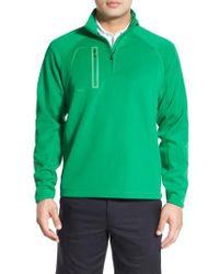 Bobby Jones - 'crawford - Xh20' Stretch Quarter Zip Golf Pullover - Lyst