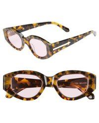 c02ecff7523 Lyst - Von Zipper Vonzipper  castaway  58mm Polarized Sunglasses in ...