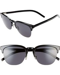 25ac4a09d5621 Lyst - Dior Homme  176s  60mm Polarized Sunglasses - Dark Havana in ...
