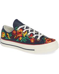 Converse - Chuck Taylor All Star Parkway Floral 70 Low Top Sneaker - Lyst