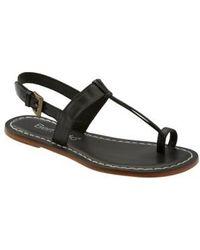 Bernardo | Maverick Leather Sandal | Lyst