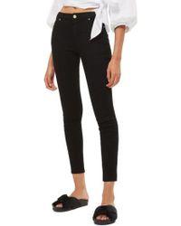 TOPSHOP | Sidney Skinny Jeans | Lyst