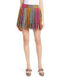 Mes Demoiselles - Guacamole Miniskirt - Lyst