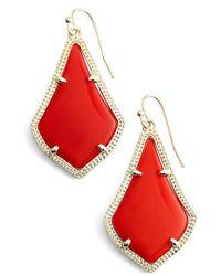 Kendra Scott | Alex Drop Earrings | Lyst