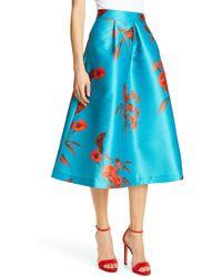 0aefdba7a Ted Baker - Arielle Fantasia Jacquard Full Skirt - Lyst