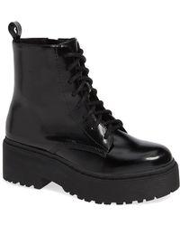 Jeffrey Campbell - District Combat Boot - Lyst