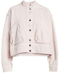Valentino - Dyed Denim Jacket - Lyst