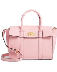 16a8d381dd Recently sold out. Mulberry - Small Bayswater Leather Satchel - Lyst