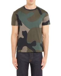 93ecdebf4 Givenchy Army-skull-print T in Black for Men - Lyst