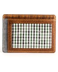 Boconi - Caleb Lte Leather Card Case - Lyst