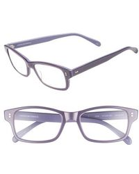 Corinne Mccormack - 'jess' 52mm Reading Glasses - Violet - Lyst