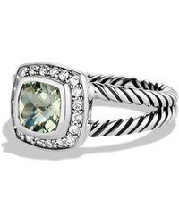David Yurman - 'albion' Ring With Semiprecious Stone & Diamonds - Lyst