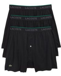 Lacoste - 3-pack Knit Boxers - Lyst
