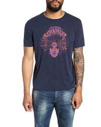 John Varvatos - Mind Experiment Graphic T-shirt - Lyst