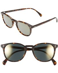 Oliver Peoples - 'finley' 51mm Polarized Sunglasses - - Lyst