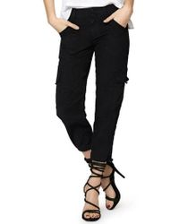 Sanctuary - Terrain Crop Cargo Pants - Lyst