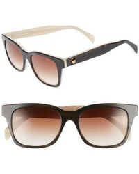 Draper James - 52mm Rectangular Sunglasses - Lyst