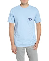 9829dabc Vineyard Vines - X Shark Weektm Cage Diver Pocket T-shirt - Lyst
