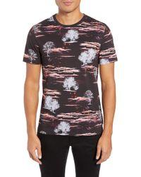 Ted Baker - Happie Slim Fit Print T-shirt - Lyst
