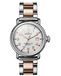 Shinola - The Runwell Bracelet Watch - Lyst