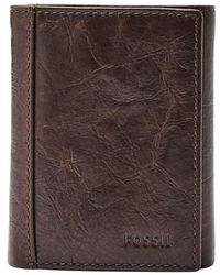 Fossil - Neel Leather Wallet - Lyst