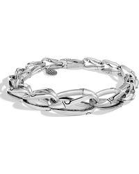 John Hardy Bamboo Sterling Silver Link Bracelet