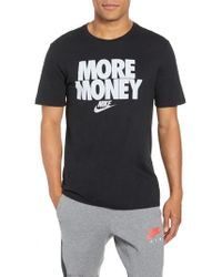 71c7c7eedf41 Lyst - Nike Men s All Money Dri-fit T-shirt in Blue for Men