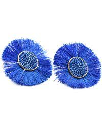 Mishky - Medium Sun Earrings - Lyst