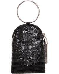 Nina - Metallic Mesh Handbag - Lyst