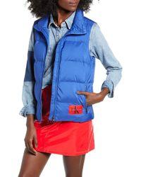 Calvin Klein - Onisol Puffer Vest - Lyst