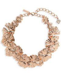 Oscar de la Renta - Wildflower Necklace - Lyst