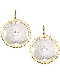 Asha - Lily Drop Earrings - Lyst