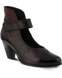 Spring Step - Chapeco Patchwork Ankle Strap Pump - Lyst