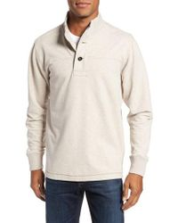 Jeremiah - Taylor Quarter Button Pullover - Lyst