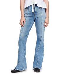 Free People - Firecracker Flare Jeans - Lyst