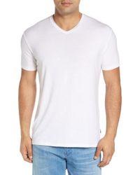 Stone Rose - V-neck T-shirt - Lyst