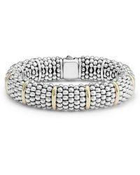 Lagos - Oval Caviar Bracelet - Lyst