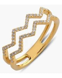Bony Levy - 'prism' 2-row Diamond Ring (limited Edition) (nordstrom Exclusive) - Lyst