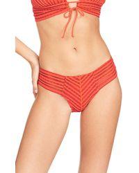 Robin Piccone - Carly Keyhole Halter Bikini Top - Lyst
