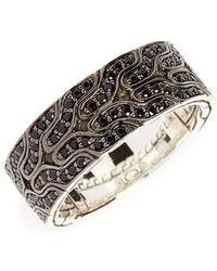 John Hardy - Lava Black Sapphire Ring - Lyst