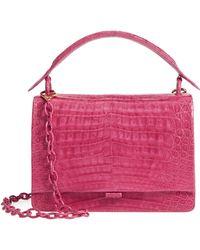 Nancy Gonzalez - Divino Genuine Crocodile Top Handle Bag - Lyst