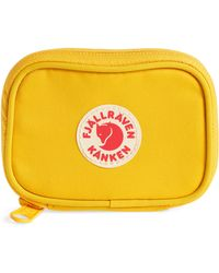 Fjallraven - Kanken Yellow Card Wallet - Lyst