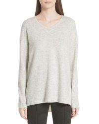 St. John - Fine Gauge Cashmere & Silk Sweater - Lyst