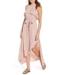 O'neill Sportswear - Misty Asymmetrical Dress - Lyst