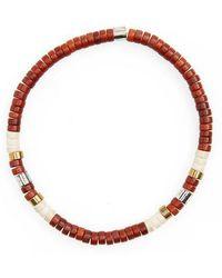 Link Up | Shell Bead Bracelet | Lyst