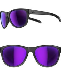 5360a8e5f4 adidas - Wildcharge 61mm Mirrored Sport Sunglasses - Lyst