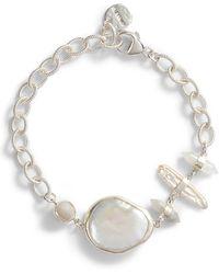 Chan Luu - White Pearl Bracelet - Lyst